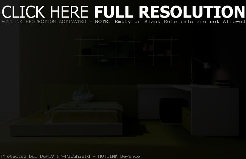 green dark color bedroom decorating ideas | House Decorating Ideas