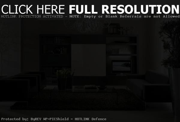 dark living room decorating ideas