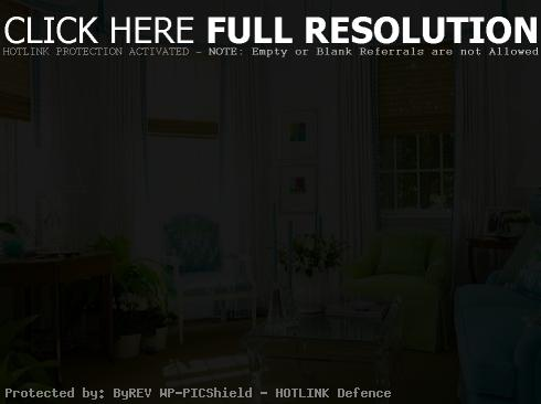 Turquoise Green Living Room Color Schemes